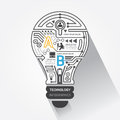creative-lightbulb-abstract-circuit-technology-inf-infographic-vector-37963424
